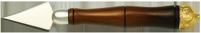 Копие малое с деревянной ручкой.