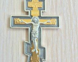 Крест серебряный иерейский.