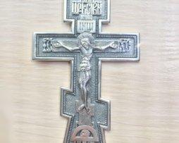 Крест серебряный иерейский без цепи