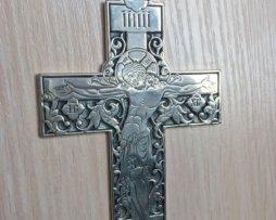 Крест серебряный  без цепи