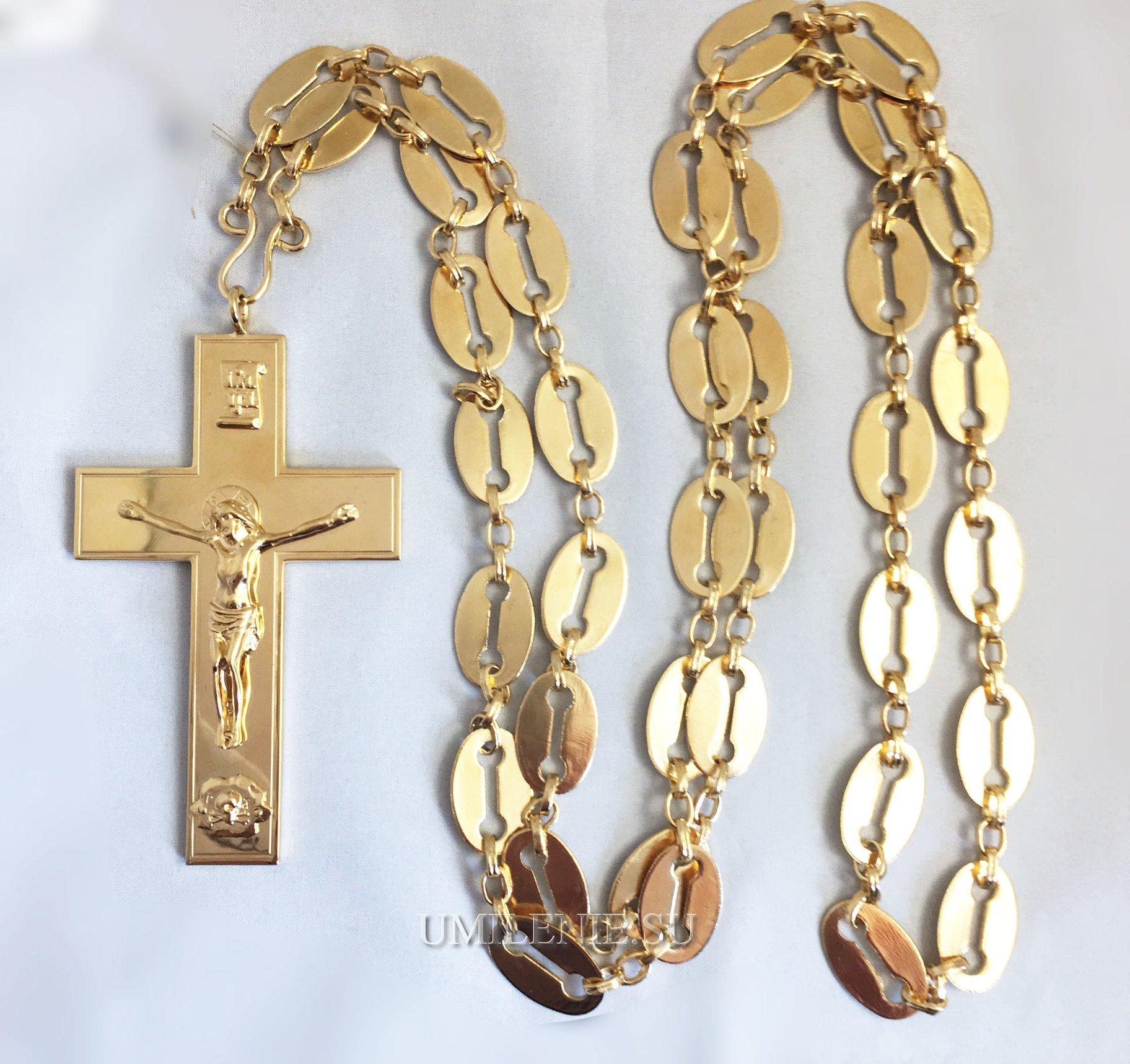 крест протоиерейский с цепью для священника
