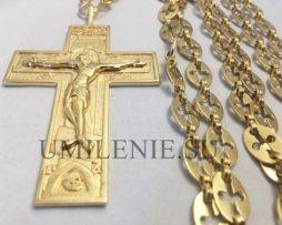 крест наперсный для священника с украшениями