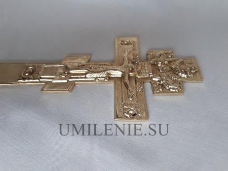 """Крест медный киотный """"Распятие Христово"""""""