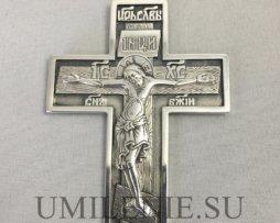 крест кабинетный серебряный
