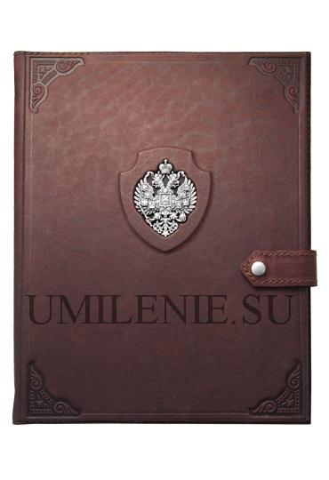 Чехол для iPad_Империя_кожа_серебро_подарки_сувениры