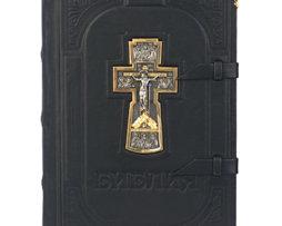Библия_Вознесение_кожа_серебро_подарки_сувениры