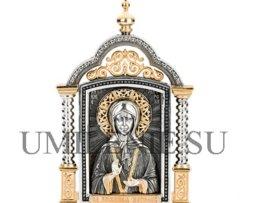 Икона Матрона_серебро_подарки_сувениры