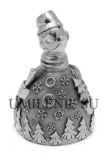 Колокольчик серебряный_серебро_подарки_сувениры