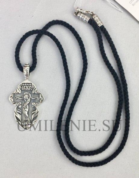 крест серебряный мужской большой