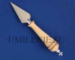 Копие девятичинное с деревянной ручкой