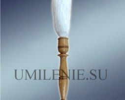 Кропило малое с деревянной ручкой