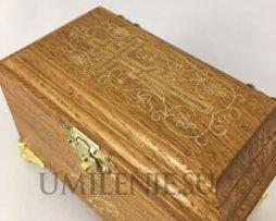 ящик крестильный дубовый