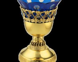 Лампада напрестольная латунная в позолоте