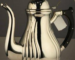 Чайник для теплоты латунный с ручкой