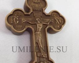 Крест напрестольный дубовый