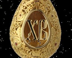 """Яйцо """"Пасхальное"""" в позолоте"""