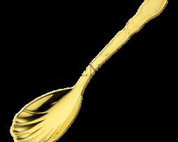 Ложечка для ладана латунная в позолоте