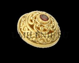 Пуговица латунная для иерейского облачения в позолоте