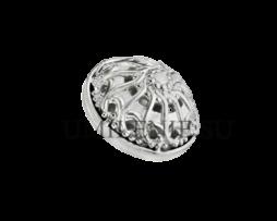 Пуговица латунная в серебрении для иерейского облачения