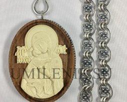 Архиерейский комплект серебряный с цепями
