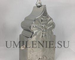 Дароносица никелированная