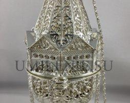 Кадило латунное в серебрении для священника