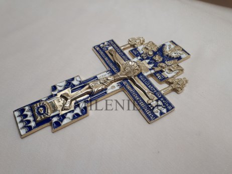 """Крест киотный """"гуслицкий"""" средний с херувимами"""