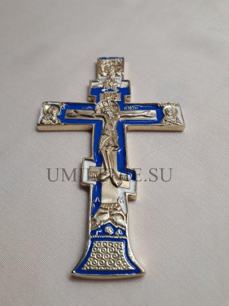 """Крест малый поморский """"Распятие с предстоящими"""""""