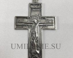 Крест наперсный кабинетный серебряный без цепи