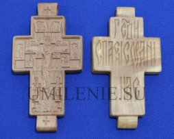 Крест деревянный параманный без цепи