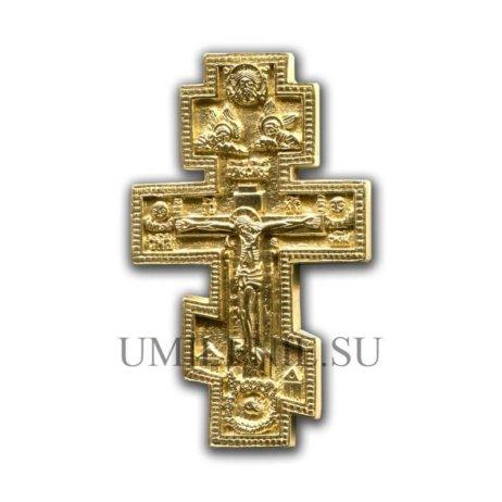 """Вершковый киотный поморский крест """"Распятие"""""""