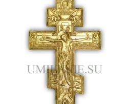"""Крест поморский киотный """"Распятие Христово"""""""