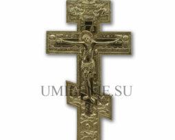 """Крест киотный поморский восьмивершковый """"Распятие Христово"""""""