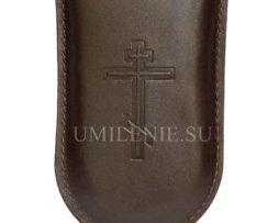 Чехол для наперсного креста кожаный