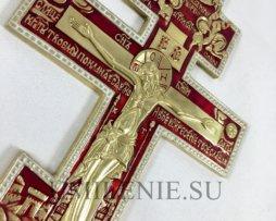 """Крест киотный поморский шестивершковый """"Распятие Христово"""""""