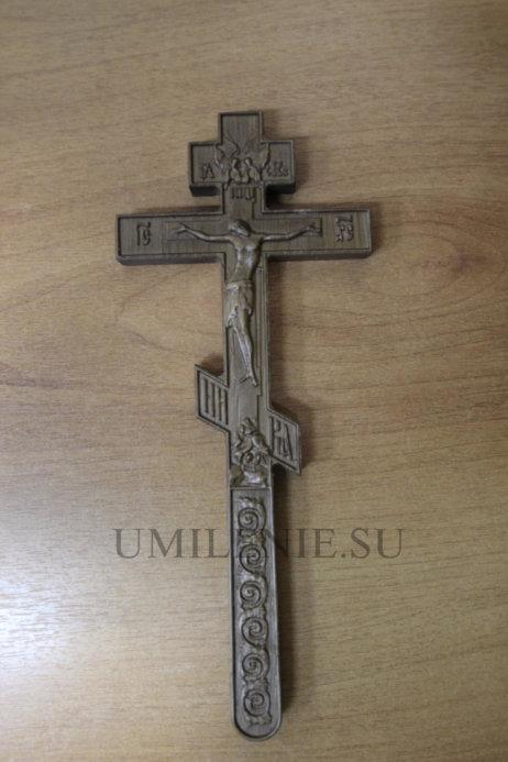 Крест требный деревянный