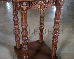 Панихидный столик дубовый