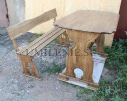 Стол и лавка в трапезную