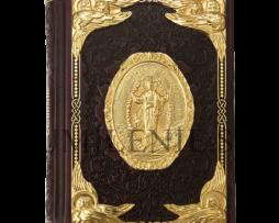 Евангелие требное с серебряными накладками в позолоте