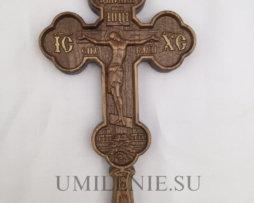 Крест напрестольный деревянный