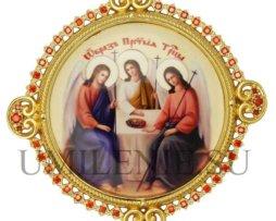 Икона на митру латунная в позолоте