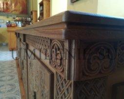 Панихидный стол большой дубовый