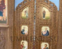 Царские врата дубовые