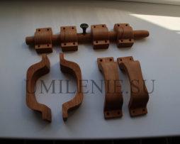 Комплект деревянной фурнитуры для алтаря