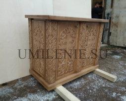 Панихидный стол дубовый