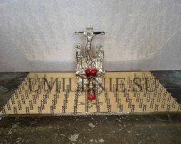 Крышка панихидного стола на 100 свечей