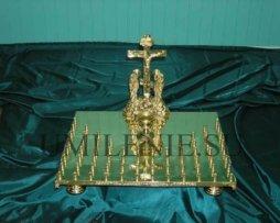 Крышка панихидного стола на 40 свечей